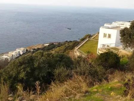 Bodrum Bitez De Satılık Deniz Manzaralı Arsa